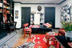 black and white bohemian  Sara Story | Projects | Gramercy Park Renovation