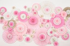4x6 Pinwheel Wall Wedding Event Decoration Set by DECORBYTORIA, $600.00