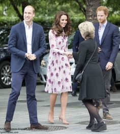 The Duke and Duchess of Cambridge and Prince Harry marked World Mental Health Day with a special Heads Together event at County Hall and t...