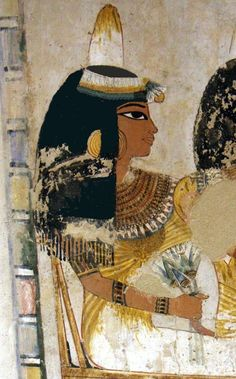 "Ancient Egyptian painting from the Tomb of Menna, located in the Sheikh Abd el-Qurna district of the Maadi, opposite Luxor in Egypt. Menna was ""Scribe of the Fields of the Lord of the Two Lands"" probably during the reign of Thutmose IV during the dynasty. Ancient Egyptian Paintings, Ancient Egypt Art, Egyptian Art, Ancient Artifacts, Ancient History, European History, Ancient Aliens, Ancient Greece, Kemet Egypt"