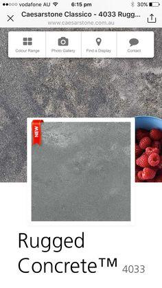 Caeserstone Rugged concrete