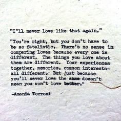Poetic Conversation, Poem 16. Amanda Torroni http://amandatorroni.com/ https://www.facebook.com/pag…/Amanda-Torroni/550935674983217