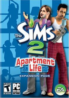 The Sims 2: Apartment Life Expansion Pack by Electronic Arts, http://www.amazon.com/dp/B001AIR1F8/ref=cm_sw_r_pi_dp_rUNHpb1Z5KFWJ