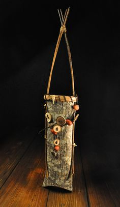 Hand crafted Appalachian Cherokee Poplar Bark baskets by Mark Hendry for Organic Artist Tree in Blue Ridge, GA 30513