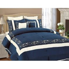 navy blue forter sets queen