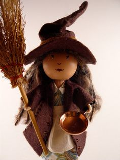 Custom Kitchen Witch for bookworm81 | Flickr - Photo Sharing!