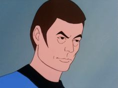 New party member! Tags: animated star trek judging you moron star trek the animated series star trek animated what do i look like a moron