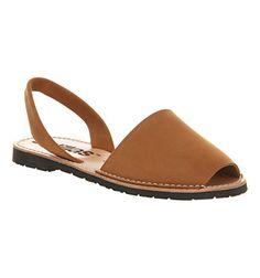 Solillas Solillas Sandal Tan Leather - Sandals