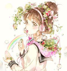 Картинки по запросу anime girl art