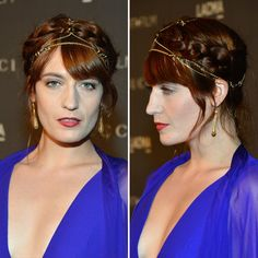 Florence Welch Wears Jewelry in Her Hair (and Pulls It Off)