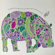 Millie Marotta Coloring Book Inspirational Millie Marotta S Animal Kingdom Dwb 2015 My Gallery Doodles, Curious Creatures, Zentangle Drawings, Color Harmony, Colouring Techniques, Mandala Painting, Coloring Book Pages, Animal Kingdom, Adult Coloring