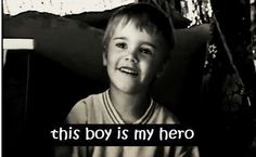 This boy is my hero || Justin Bieber