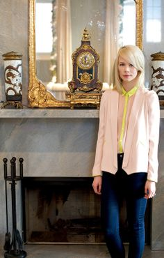 Erin Fetherston photographed in her home by Carol Dronsfield