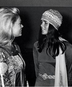 Dyan Cannon & Ali MacGraw, 1970