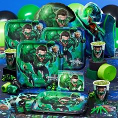 Green Lantern Party Supplies