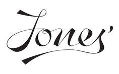 logo / jones / calligraphy