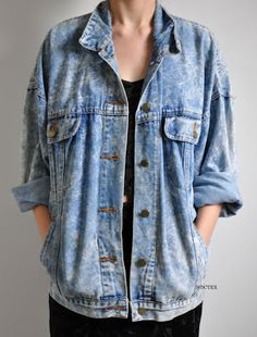 fc5a2dc2957 Need a big oversize cowboy jacket like this! To die for!! Oversized Denim
