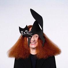 A icônica diretora criativa da Vogue América, Grace Coddington