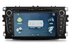 "Android Car DVD Player ""Road Avenger II"" - For Ford Mondeo, 7 Inch Screen, 8GB Internal Memory, GPS, Wi-Fi, 3G, DVB-T (2 DIN)"