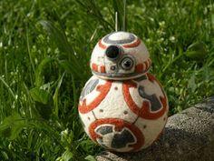 BB-8 needle felting