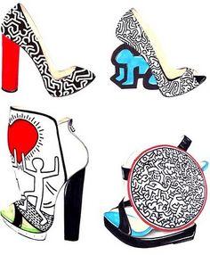 ! ✿✿✿✿✿: Keith Haring Pop Art & Fashion