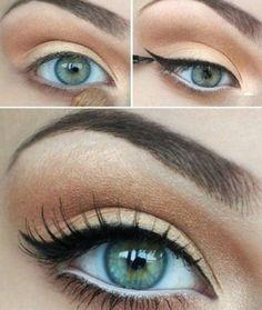 Idea Trucco occhi azzurri