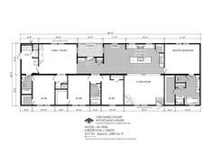 ***Skyline Taylor - 5777 - Mobile Homes Direct 4 Less Metal Building Homes, Metal Homes, Building A House, Metal House Plans, House Floor Plans, Remodeling Mobile Homes, Home Remodeling, Skyline Homes, Mobile Home Doublewide