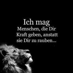 Kraft geben statt nehmen ... ☺