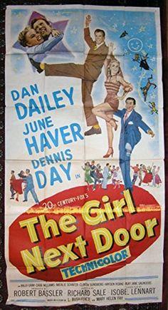 The Girl Next Door (1953) Original Movie Poster