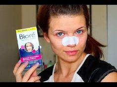 How to: Make Biore Pore Strips More Effective - YouTube