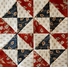 Homespun Quilts: great block for 4th of July