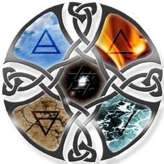 4 elements (Médaillon)