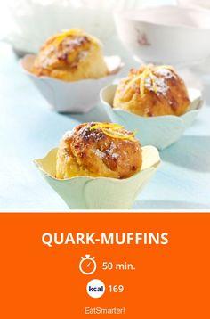 Quark-Muffins - smarter - Kalorien: 169 kcal - Zeit: 50 Min. | eatsmarter.de