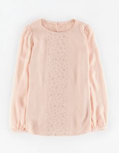 Sequin Shimmer Top WA651 Tops & T-shirts at Boden