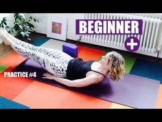 BEGINNER YOGA FLOW Strengthen Tone Core Abdominals Back // Beginner+ Practice #4 - YouTube