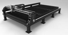 Fabricacion y venta de diversos Pantografos CNC, Plasma, Oxicorte, laser, Mexico.