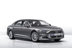 AUDI debuts the A8, and A8 L models with piloted driving functions, letting the sophisticated saloons drive on their own in traffic at 37.3 mph 60 (km/h).