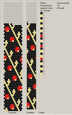 ussikaelakee Bead Crochet Patterns, Loom Patterns, Beading Patterns, Spiral Crochet, Bead Crochet Rope, Beaded Earrings, Beaded Jewelry, Beaded Bracelets, Loom Beading