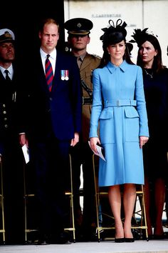 The Duke and Duchess of Cambridge in Normandy