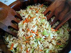 My Homemade Life: Kevin Bacon's CRUNCHY ASIAN SLAW. Everybody and Their Brother Has It.
