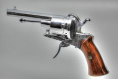 Belgian 7mm Pinfire Revolver