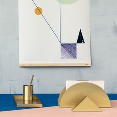 Ferm Living Brass Tablett