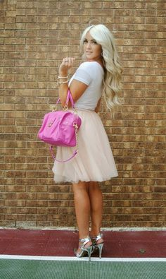 Trending: Tulle skirts and how to wear them | Miss Rich