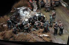 Diorama Segunda Guerra Mundial 13