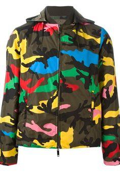 VALENTINO Camouflage jacket #alducadaosta #newarrivals #spring #summer #men #fashion #style #accessories #apparel #valentino