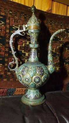 Interior Design Color Schemes, Russian Art, Home Decor Kitchen, Islamic Art, Home Decor Inspiration, Tea Set, Antique Gold, Metal Working, Copper