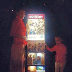 Night time cart witnessing in Brisbane, Australia.