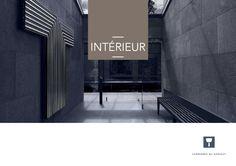 Le catalogue 'Intérieur' marque d'une pierre... bleue le début d'une belle collaboration avec les Carrières du Hainaut.