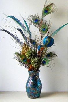 36 Awesome Peacock Theme Items to Inspire Your Life ... Peacock Colors, Peacock Art, Peacock Feathers, Peacock Blue, Peacock Living Room, Peacock Bedroom, Peacock Room Decor, Peacock Themed Bathroom, Artificial Flower Arrangements