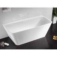 Flush To Wall Freestanding Bath